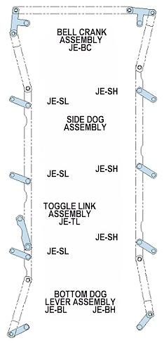 Juniper Industries Lever Assemblies And Parts